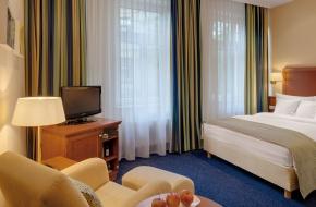 Komfort Einzelzimmer im Oranien Hotel & Residences Wiesbaden