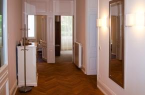 Flur im Superior Apartment im Oranien Hotel & Residences Wiesbaden