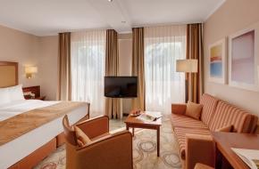 Superior Doppelzimmer im Oranien Hotel & Residences Wiesbaden