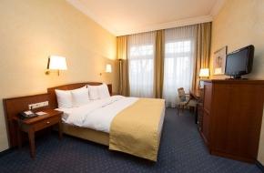 Einzelzimmer im Oranien Hotel & Residences Wiesbaden