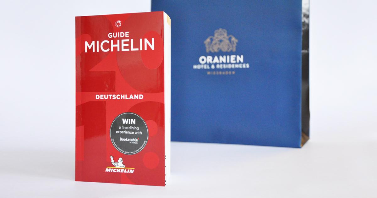 des 4 Sterne Hotels Oranien Hotel & Residences in Wiesbaden im Guide Michelin 2018
