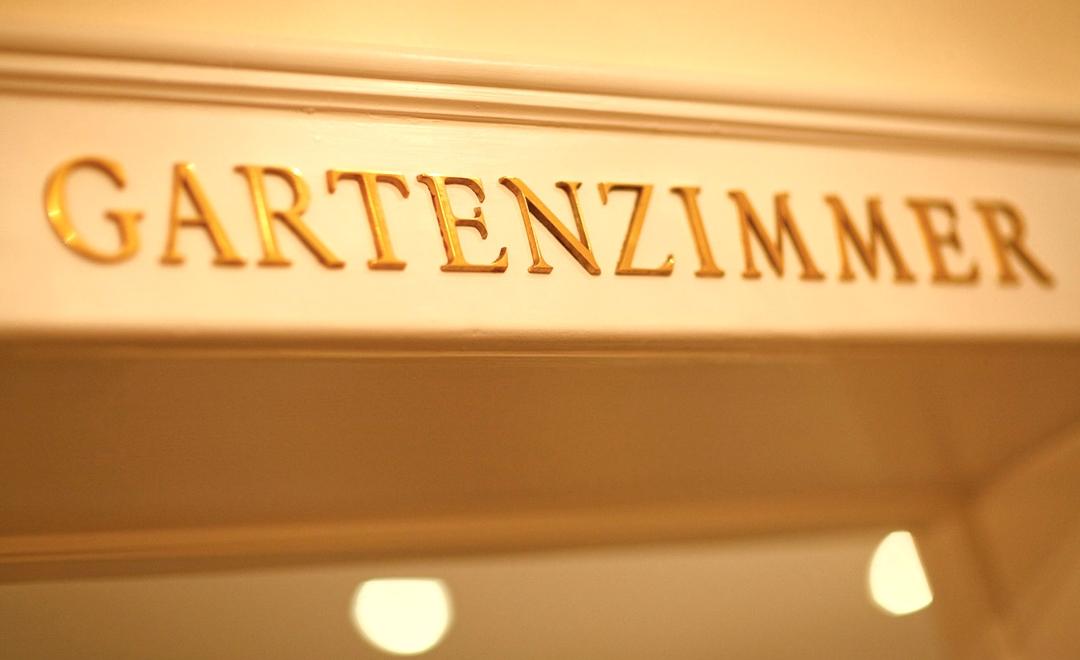 Besprechungsraum im Oranien Hotel & Residences Wiesbaden: das Gartenzimmer