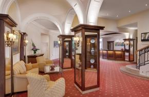 Lobby des Oranien Hotel & Residences Wiesbaden