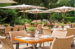 Terrasse im Restaurant Linner im Oranien Hotel & Residences Wiesbaden 3